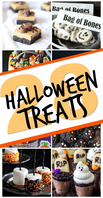 28 Halloween Treats
