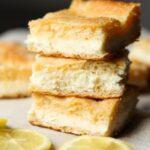 Image of Lemon Cream Cheese Bars, Stacked