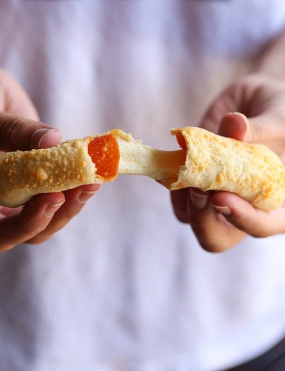 Image of Cheesey Pizza Breadsticks