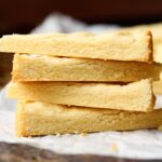 Image of 3 Ingredient Shortbread Cookies, Stacked
