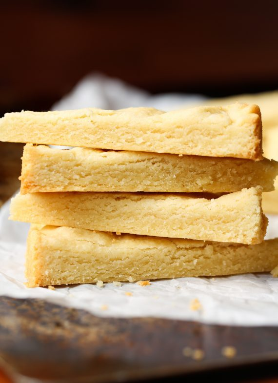 3 Ingredient Shortbread Cookies are easy, buttery, and delicious!