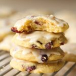Orange Cranberry Meltaway Cookies