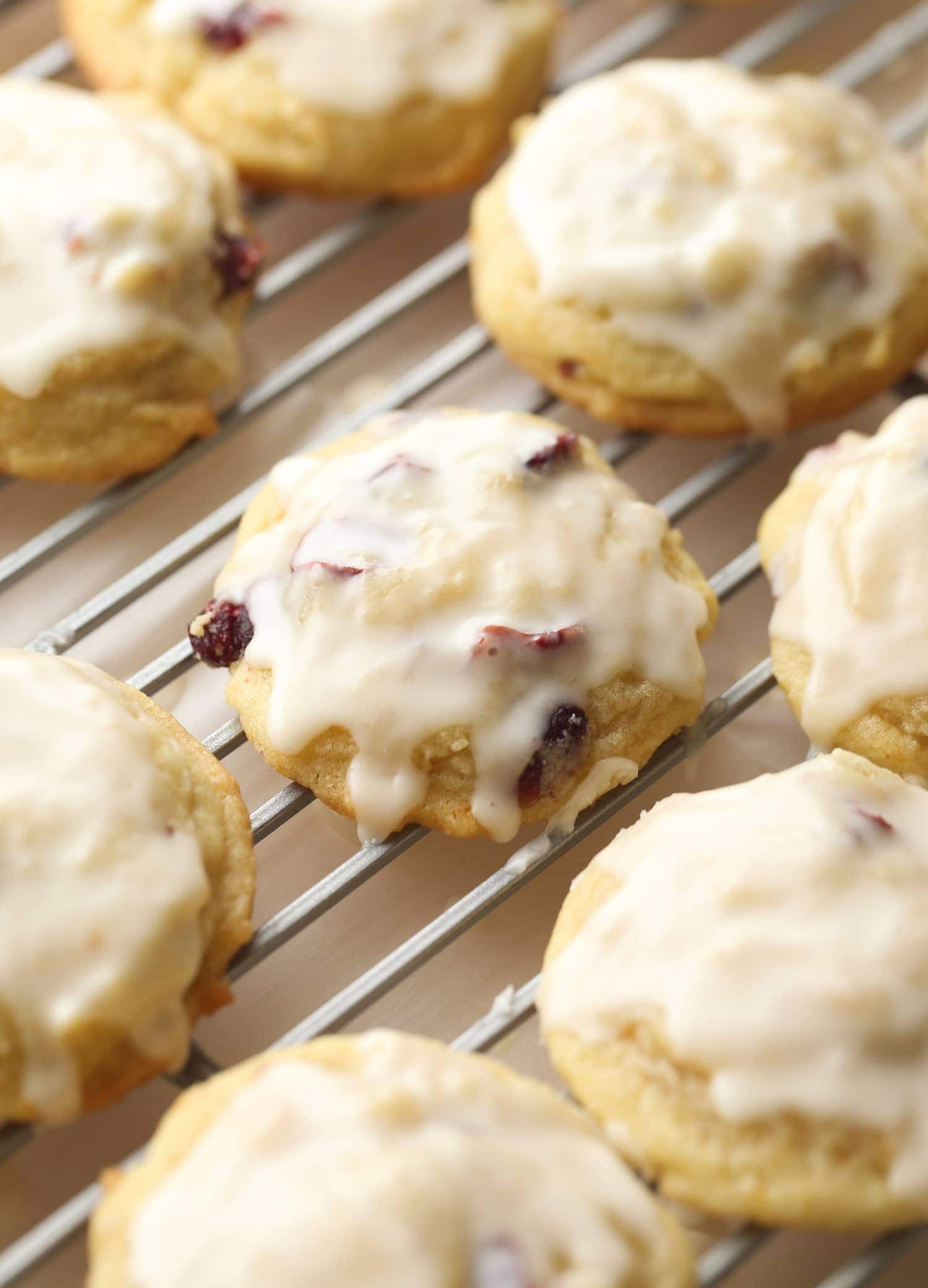 Cranberry Orange Meltaway Cookies Holiday Baking Christmas Cookies