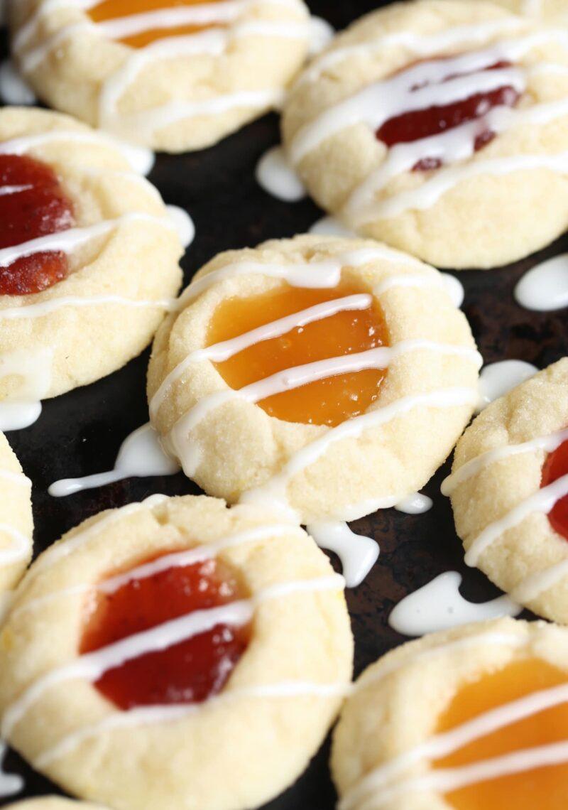 Lemon Thumbprint Cookies!
