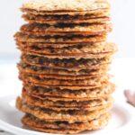 Milk Chocolate Lace Sandwich Cookies
