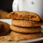 Soft Molasses Cookies