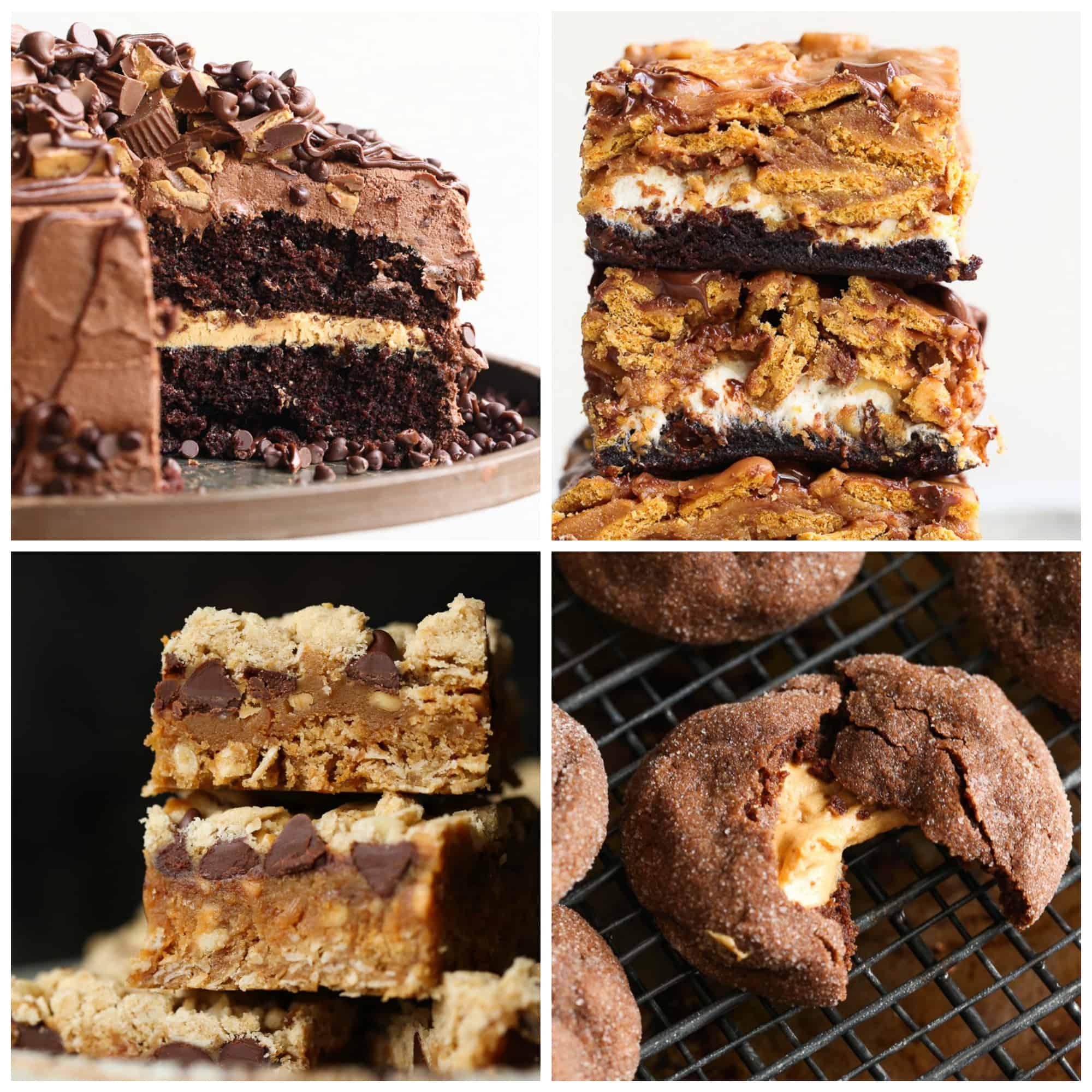 20 Amazing Peanut Butter Dessert Recipes