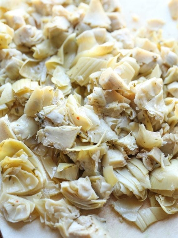 Cheesy Chicken Artichoke Bake