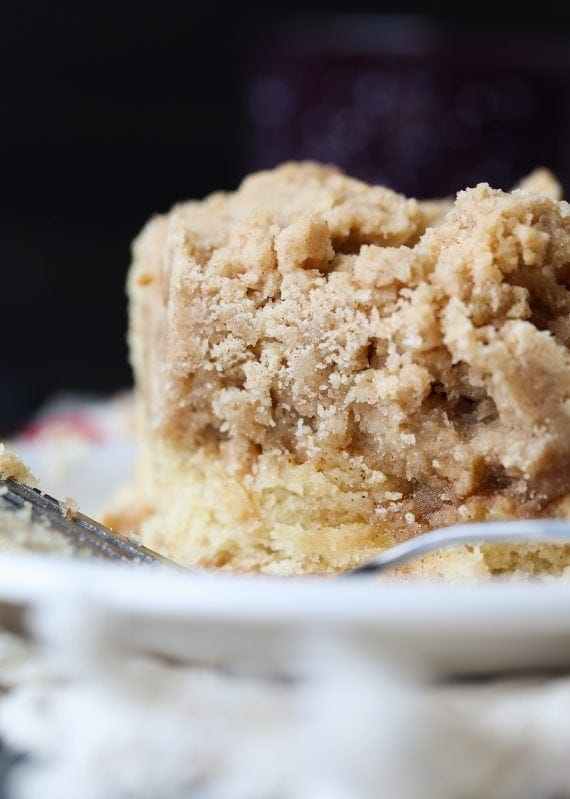 Double the Crumb Cake