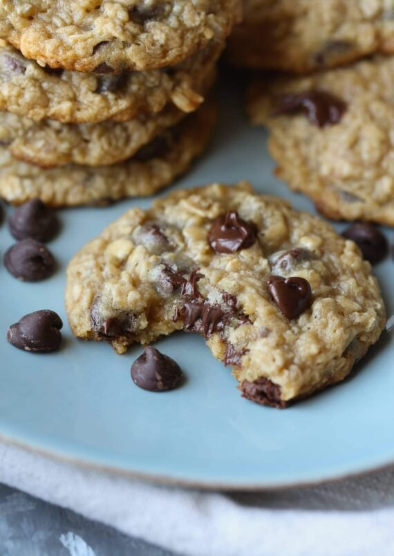 Malted Oatmeal Chocolate Chip Cookie | Oatmeal Cookie Recipe