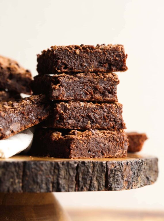 My Perfect Fudgy Brownies recipe is the answer to making the best fudgy brownie recipe!