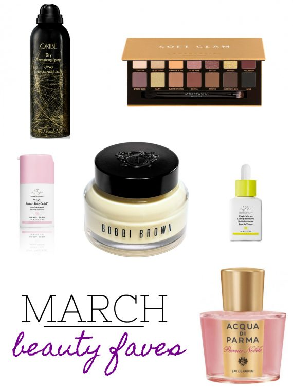 Cookies & Cups March Beauty Faves