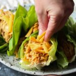 Image of Slow Cooker Buffalo Chicken Wraps