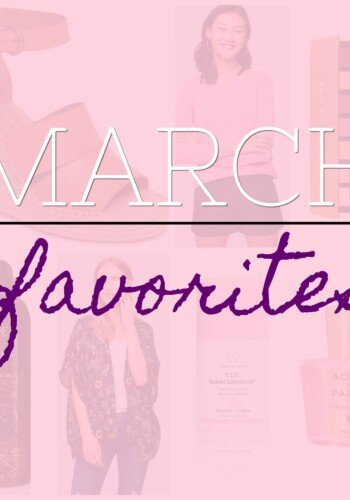 Cookies & Cups: March favorites