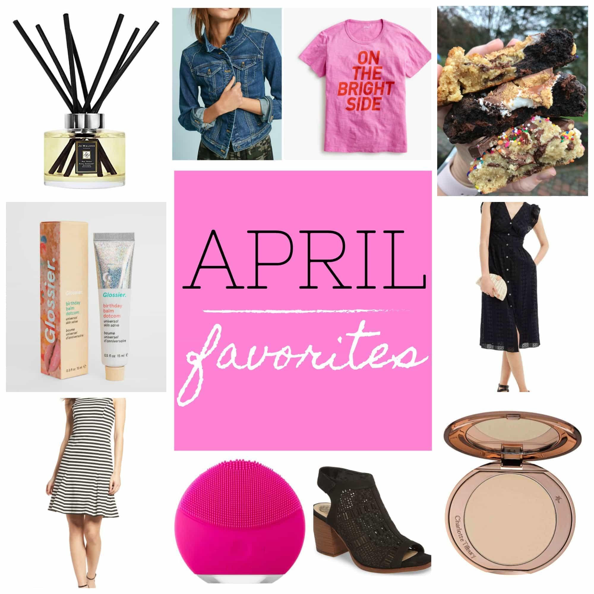 My April Favorites