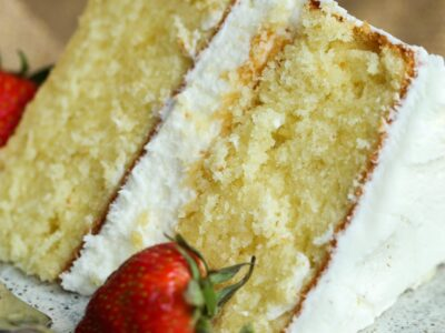 The Perfect Vanilla Cake Recipe