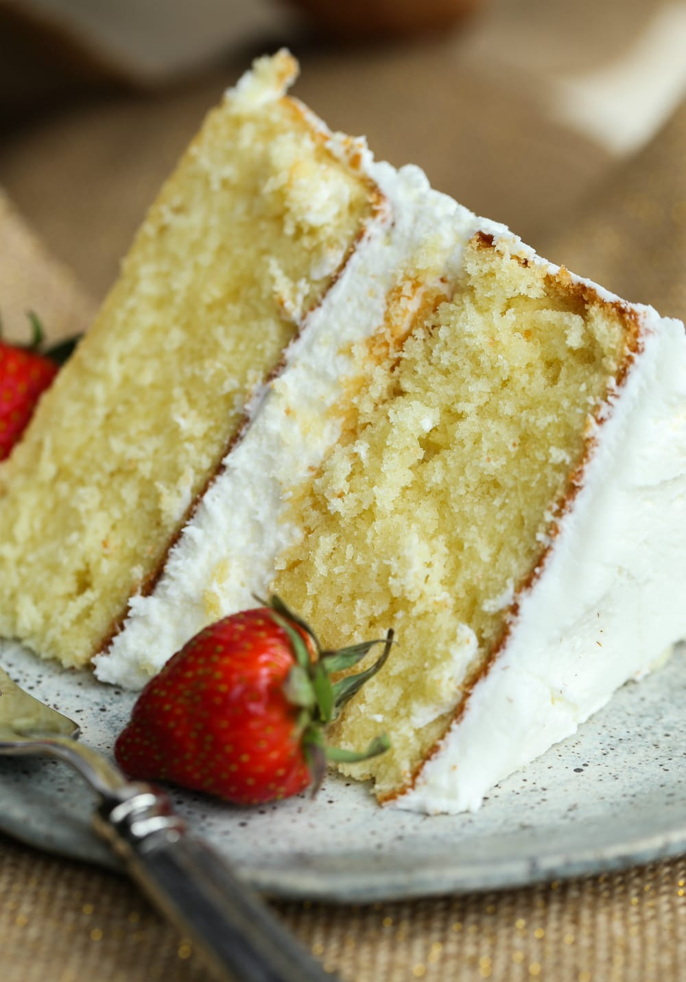How to Make a Perfect Vanilla Cake - The BEST Vanilla Cake Recipe!
