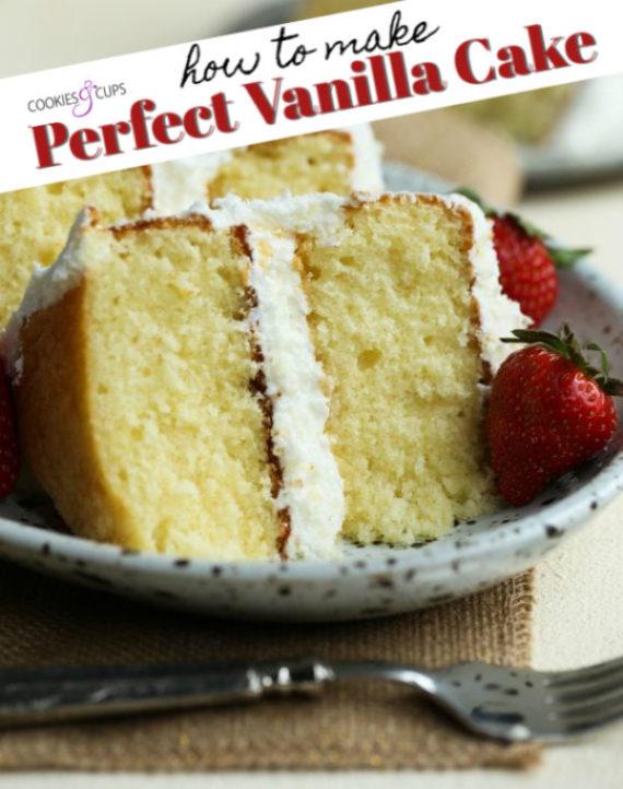 The Best Vanilla Cake
