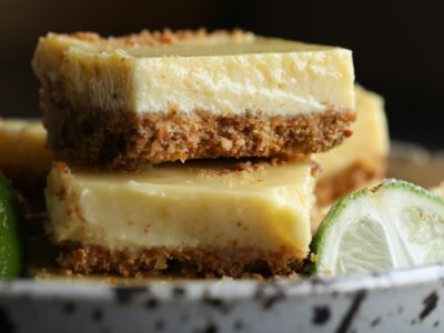 Pretzel Crusted Key Lime Bars