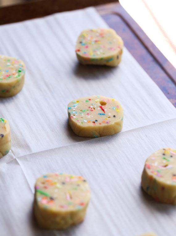 Refrigerator Sprinkle Cookies