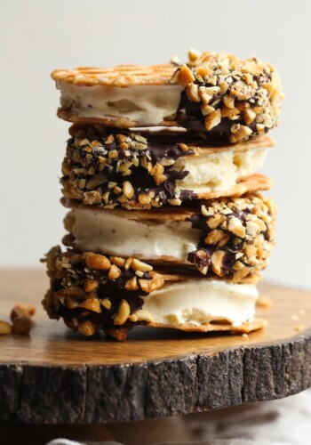 Drumstick Ice Cream Sandwiches