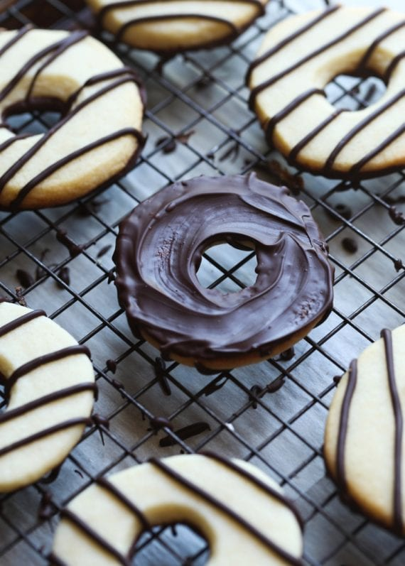 Homemade Fudge Stripes Cookies