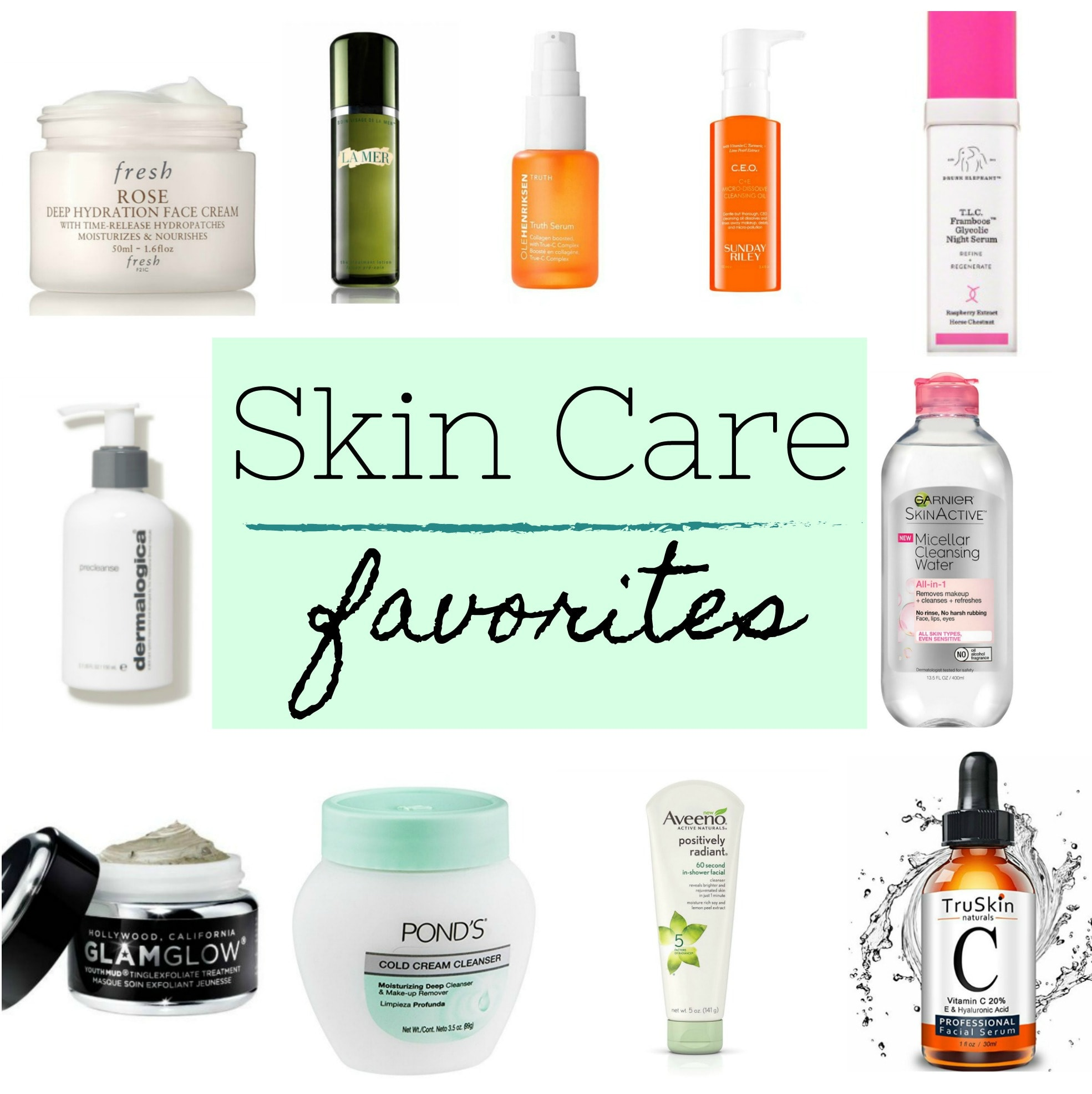 Best Facial Skin Care: Skin Care Routine Luxury And Drug Store