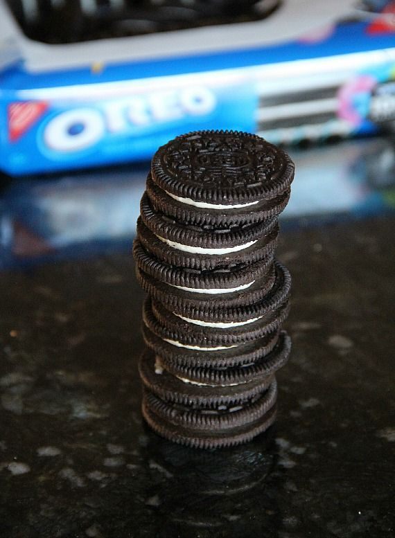 Image of Stacked Oreo Cookies