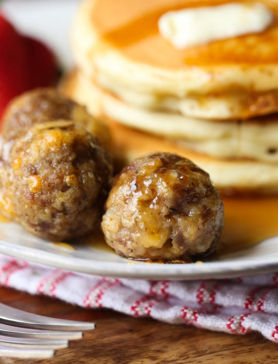 Breakfast Meatballs
