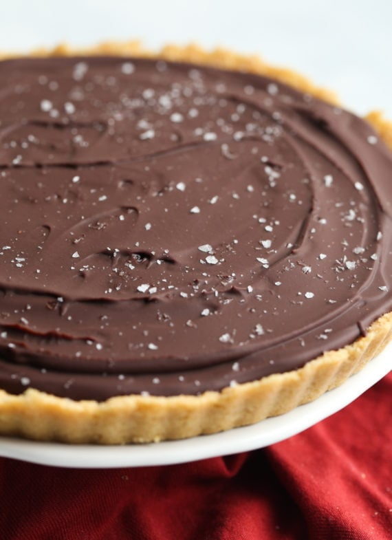 No Bake Twix Pie