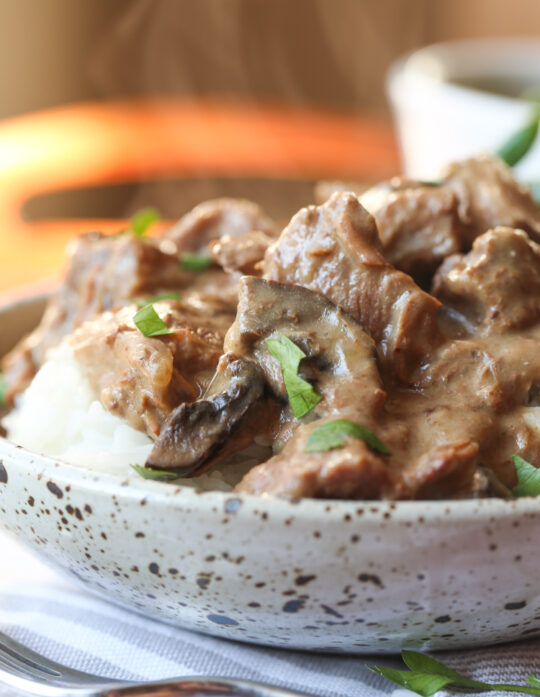 Image of Easy Slow Cooker Beef Tips