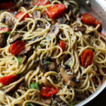 Mushroom and Garlic Butter Pasta
