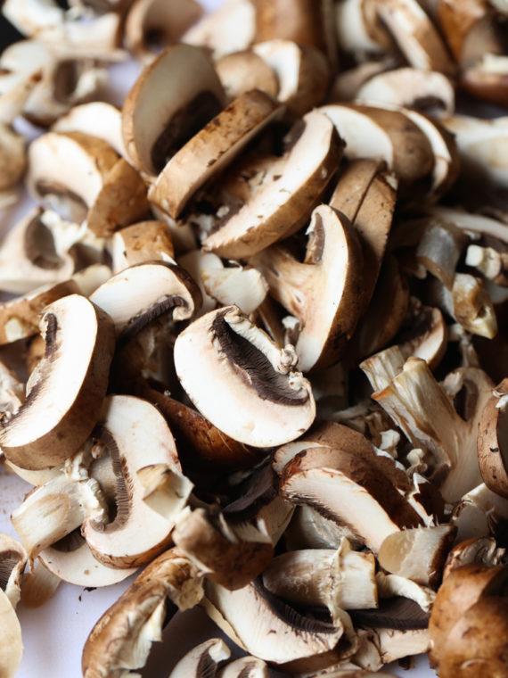 Mushroom and Garlic Butter Pasta
