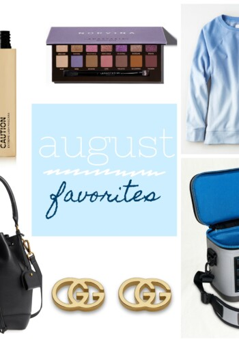 Cookies and Cups - August Favorites