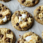 Krispie Treat Chocolate Chip Cookies
