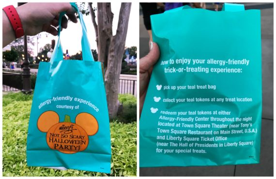 Mickey's Not So Scary Halloween Party and their allergy accommodations