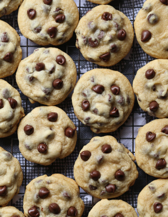 CHEWY Chocolate Chip Cookies are a new favorite cookie recipe with a secret ingredient!