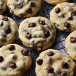 Chewy Chocolate Chip Cookies are an EASY chocolate chip cookie recipe with a special ingredient