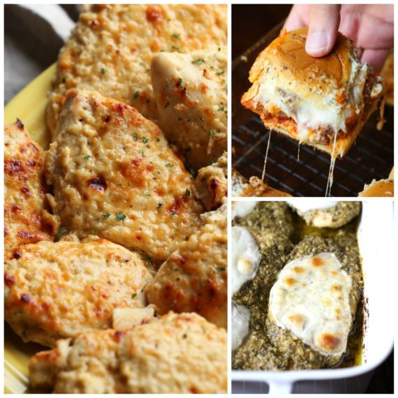 Easy Chicken Recipes you can make in the oven!