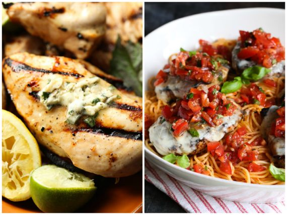 Easy Grilled Chicken Breast Recipes