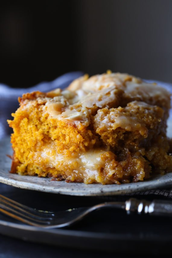 Pumpkin Earthquake Cake will be an instant family favorite pumpkin cake recipe.