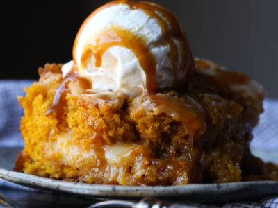 Pumpkin Earthquake Cake is the best pumpkin cake recipe and so easy!