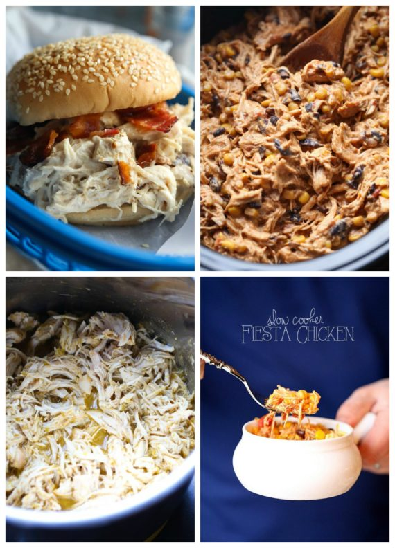 Easy Slow Cooker Chicken recipes