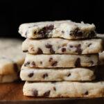 Tender, easy chocolate chip shortbread recipe
