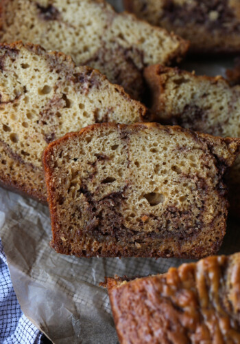 Easy Cinnamon Swirl Bread recipe is moist and loaded with buttery cinnamon!