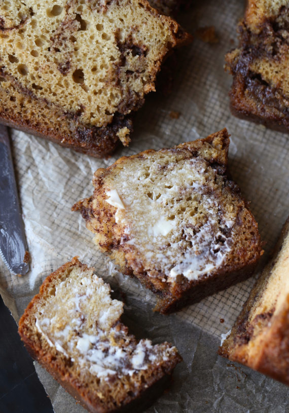Buttery Cinnamon Swirl Bread recipe is a quick cake recipe