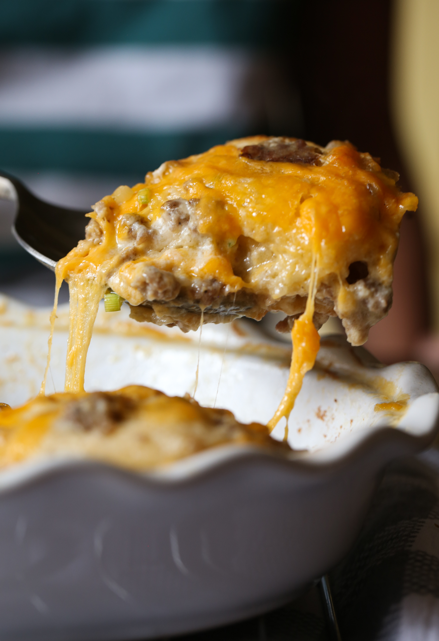 Sausage Gravy and Biscuit Bake