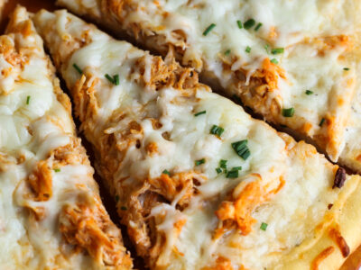 Easy Buffalo Chicken Pizza Recipe