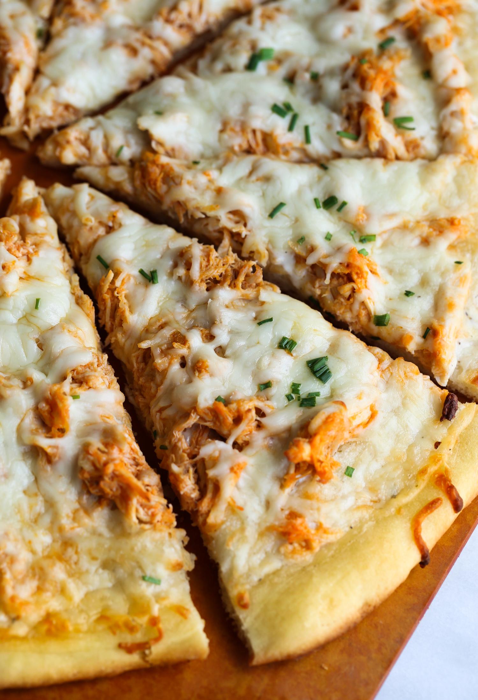 Easy Buffalo Chicken Pizza Recipe