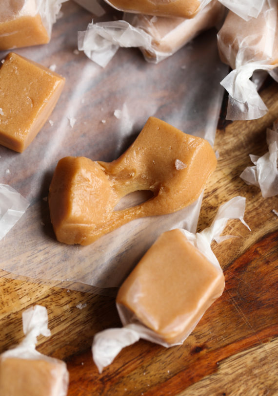 Gooey, Sweet and Chewy Homemade Caramels